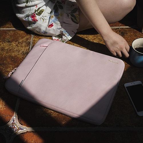 [탐탁]tomtoc A13[15인치/베이비핑크]뉴맥북프로 노트북 파우치 슬리브 클러치 탐탁코리아 정품