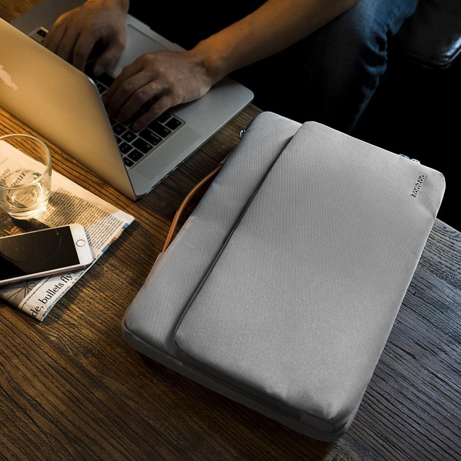 [탐탁]tomtoc A14[13인치-13.5인치/실버그레이]맥북 아이패드프로 노트북 가방 슬리브 토트백 탐탁코리아 정품