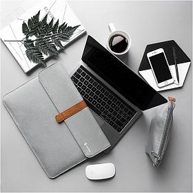 [탐탁]tomtoc A19[12.3인치/실버그레이]맥북 서피스프로 노트북 파우치 슬리브 클러치 탐탁코리아 정품