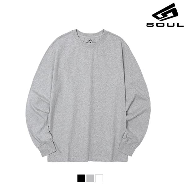 다소울 - BANDING LONG T-SHIRT - 긴팔 밴딩티셔츠 - 3colors