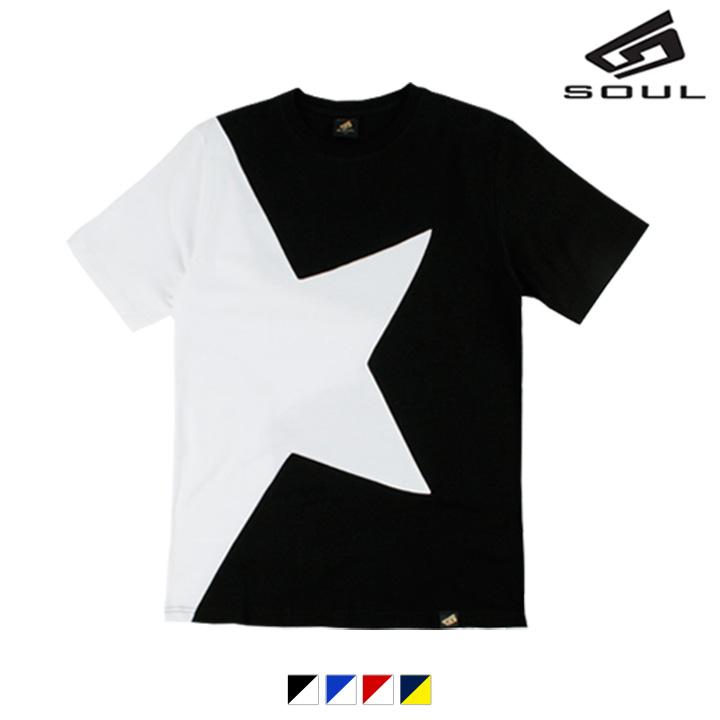 다소울 - 스타라운드 반팔 티셔츠 - 5 colors