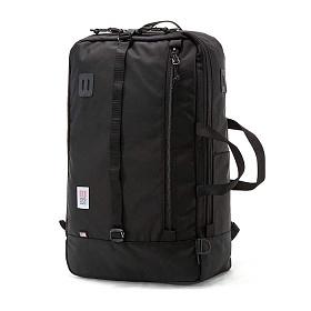 [토포디자인]TOPO DESIGNS - TRAVEL BAG BALLISTIC BLACK/WHITH LABEL TDTB014 백팩