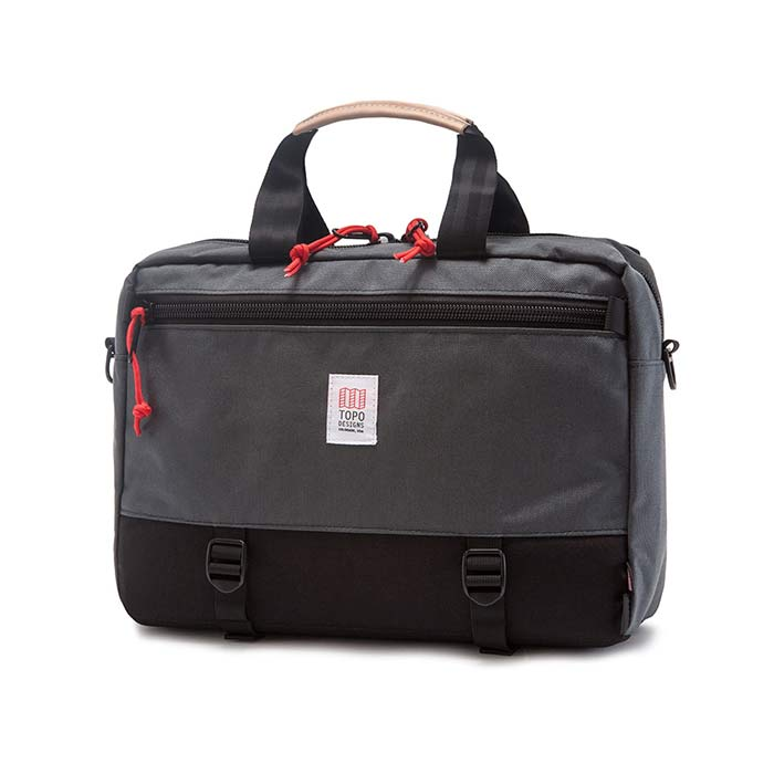 [토포디자인]TOPO DESIGNS - COMMUTER BRIEFCASE BLACK/CHARCOAL TDCMB016 브리프케이스