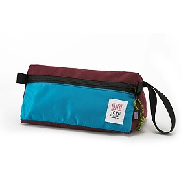 [토포디자인]TOPO DESIGNS - DOPP KIT BURGUNDY/AQUA TDDK013