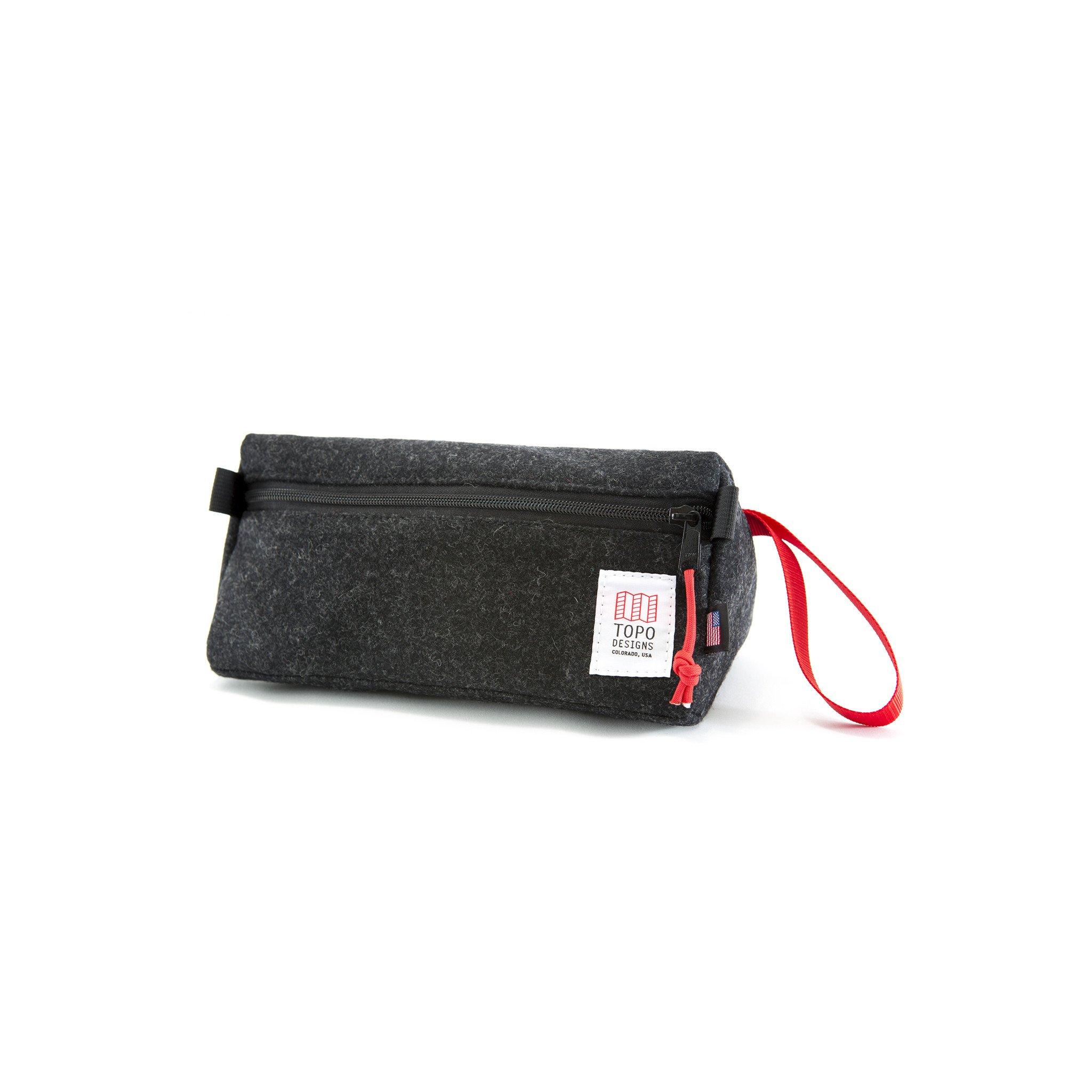 [토포디자인]TOPO DESIGNS - DOPP KIT BLACK WOOL TDDK013