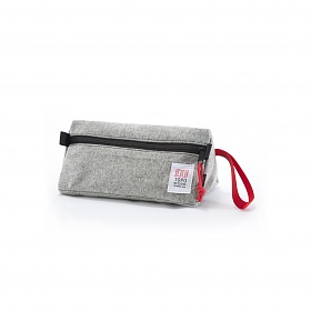 [토포디자인]TOPO DESIGNS - DOPP KIT GRAY WOOL TDDK013