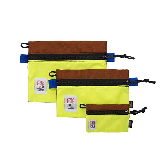 [토포디자인]TOPO DESIGNS - ACCESSORY BAGS - MICRO CLAY/YELLOW TDAB015 파우치