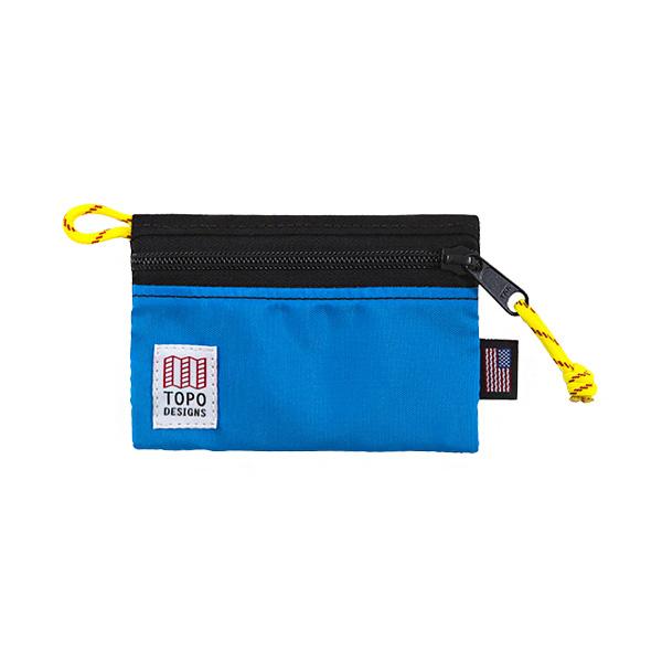 [토포디자인]TOPO DESIGNS - ACCESSORY BAGS - MICRO BLACK/ROYAL TDAB015 파우치