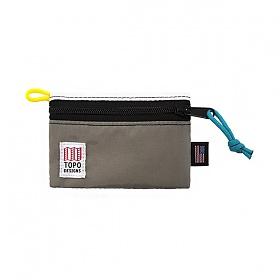 [토포디자인]TOPO DESIGNS - ACCESSORY BAGS - MICRO WHITE/SLIVER TDAB015 파우치