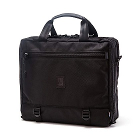 [토포디자인]TOPO DESIGNS - 3 DAY BRIEFCASE BALLISTIC / BLACK LEATHER TDMB015 브리프케이스
