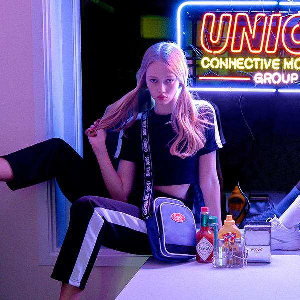[유니온오브제]DAYLIFE X UNIONOBJET MINI CROSS BAG (5 COLORS) 미니 크로스백