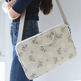 [바투카] 데일리라이크 lace flower 노트북가방/서류가방