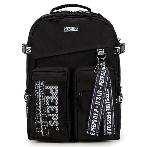 [사은품증정] [핍스] advance backpack(black) 어드밴스 백팩