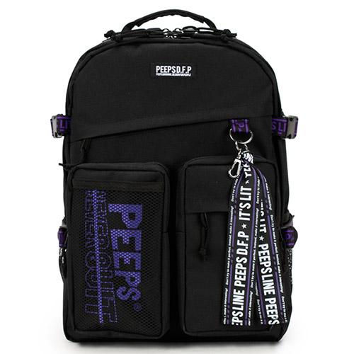 [사은품증정] [핍스]PEEPS advance backpack(violet) 어드밴스 백팩