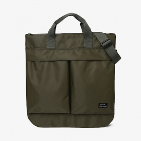 [제너] 2BUTTON HELMET BAG - KHAKI (J2BHBKK) 크로스백 토트백