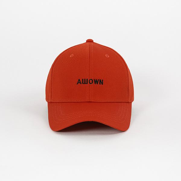올라온 - Labelballcap - Orange