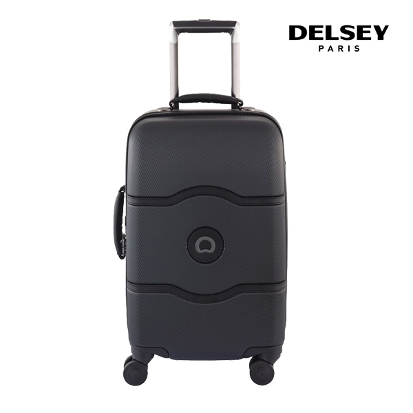 [델시]DELSEY - 샤틀렛 CHATELET HARD+ 55 4DW CAB TR CASE[0.064] 00167080100 (BLACK) 21인치 기내용 캐리어