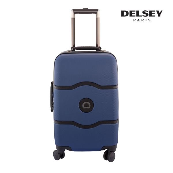 [델시]DELSEY - 샤틀렛 21인치 CHATELET HARD+ 55 4DW CAB TR CASE 00167080102 (NAVY) 기내용 캐리어