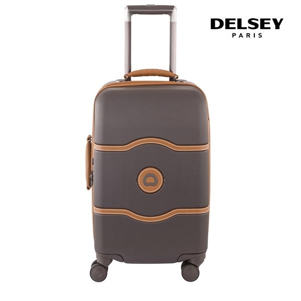 [델시]DELSEY - 샤틀렛 21인치 CHATELET HARD+ 55 4W CAB TR CASE[0.07] 00167080106 (CHOCOLATE) 기내용 캐리어