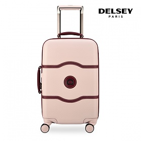 [델시]DELSEY - 샤틀렛 CHATELET HARD+ 55 4DW CAB TR CASE[0.06] 00167080119 (PINK) 21인치 기내용 캐리어