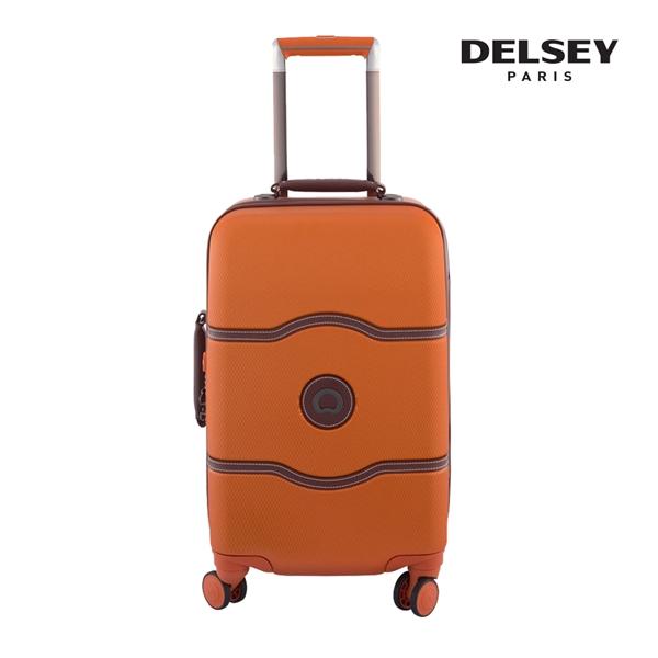 [델시]DELSEY - 샤틀렛 21인치 CHATELET HARD+ 55 4DW CAB TR CASE[0.066] 00167080125 (ORANGE) 기내용 캐리어
