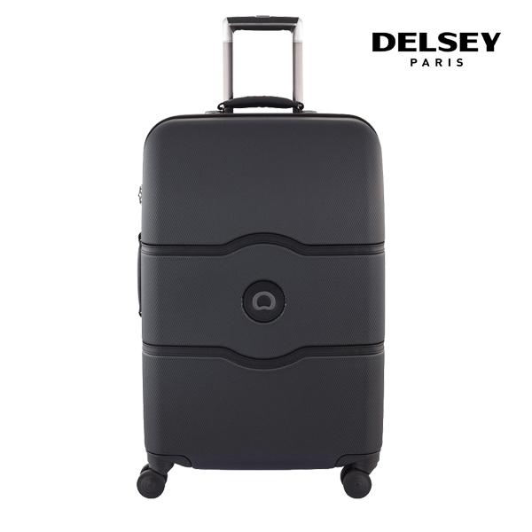 [델시]DELSEY - 샤틀렛 27인치 CHATELET HARD+ 69 4DW TROLLEY CASE[0.15] 00167081000 (BLACK) 화물용 캐리어
