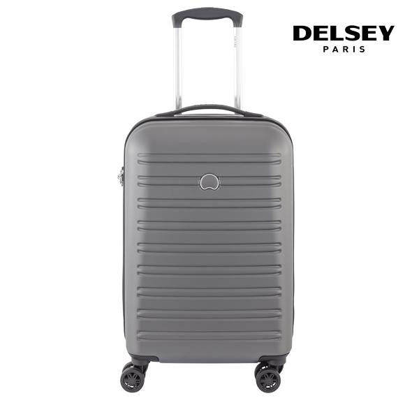[델시]DELSEY - 세규르 SEGUR 55 4DW TROL CASE[0.07] 00203880111 (GREY) 21인치 기내용 캐리어