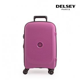 [델시]DELSEY - 벨몽트 플러스 21인치 BELMONT + 55 4W CAB TR CASE 00386180409 (PLUM PINK) 기내용 캐리어