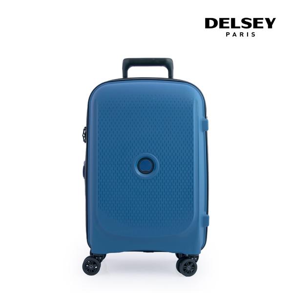 [델시]DELSEY - 벨몽트 플러스 BELMONT + 55 4DW EXP CAB TR CA 00386180432 (TURKEY BLUE) 21인치 기내용 캐리어