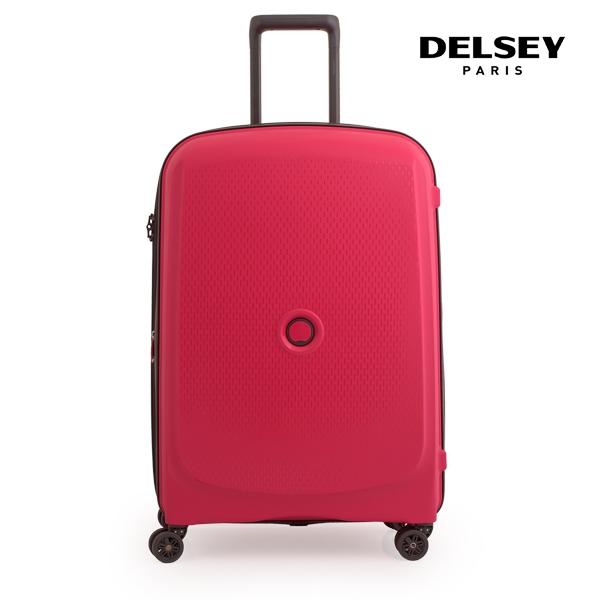 [델시]DELSEY - 벨몽트 플러스 28인치 BELMONT + 70 4W TR CASE 00386182004 (RED) 화물용 캐리어
