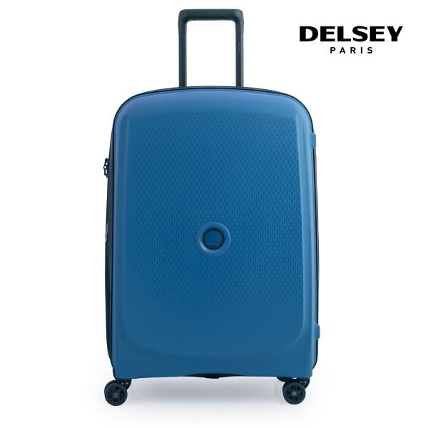 [델시]DELSEY - 벨몽트 플러스 BELMONT + 70 4DW EXP TR CASE 00386182032 (TURKEY BLUE) 28인치 화물용 캐리어
