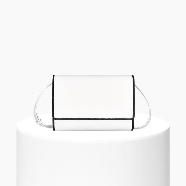 [아반자에르모쏘] 지젤(GISELLE) - WHITE 클러치 크로스백