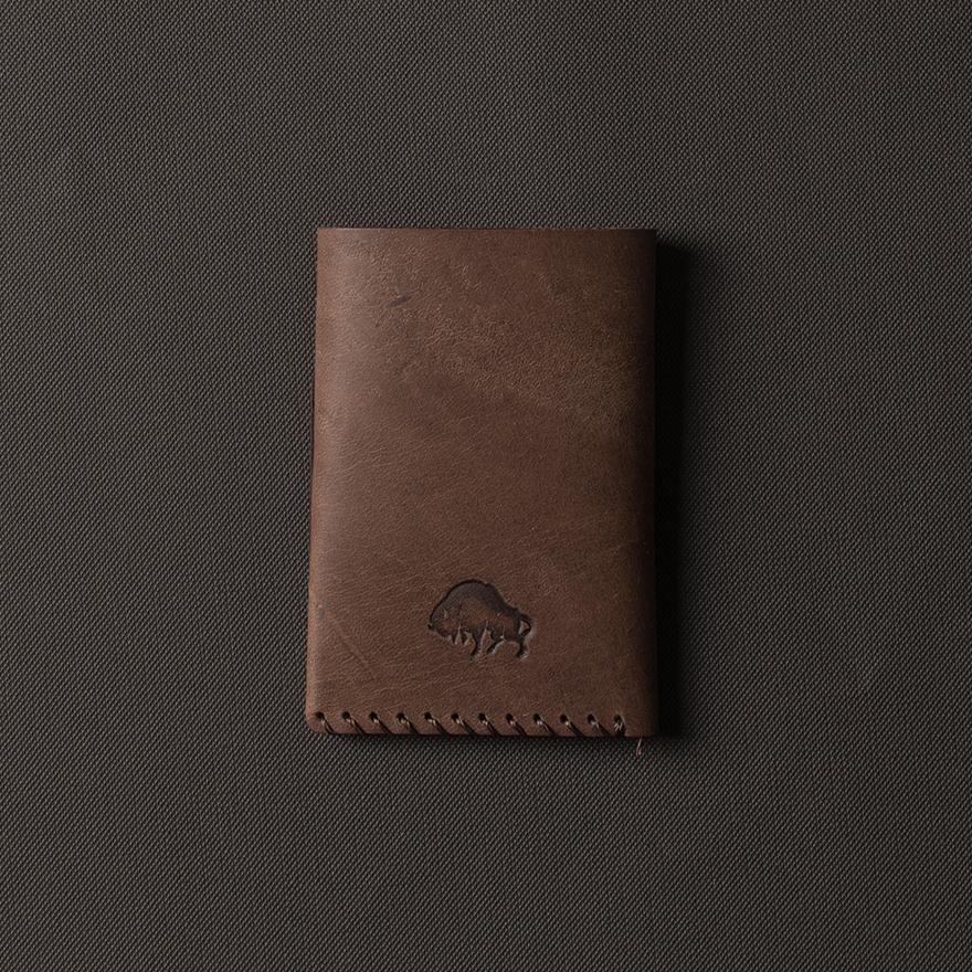[에스라아서]No.2 Wallet - Whiskey 카드지갑