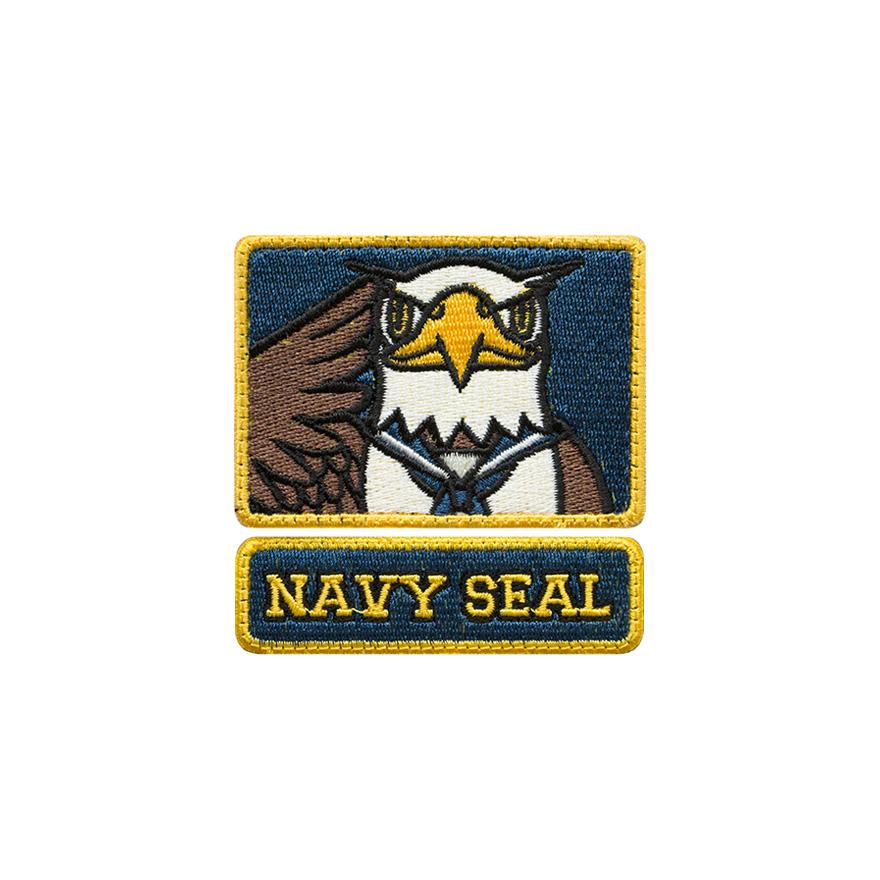 [아이언로메오]NAVY SEAL 독수리 카툰 벨크로 패치