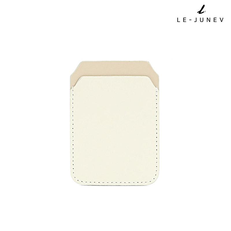 [리쥬네브]리쥬 카드지갑 L0189 크림+베이지