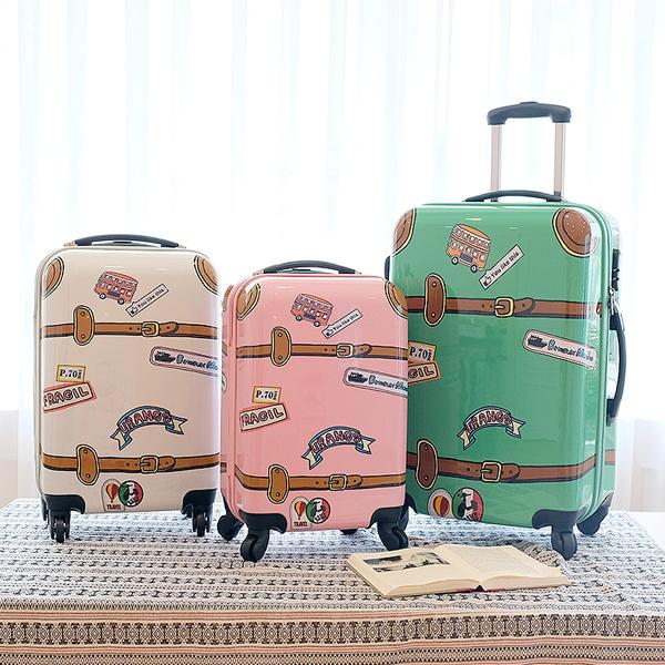 [유랑스]102 20인치 기내용 여행가방 여행용 하드 캐리어