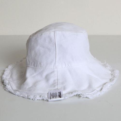 [슬리피슬립]SLEEPYSLIP - [unisex]REVERSIBLE WHITE BUCKET HAT 양면버킷햇