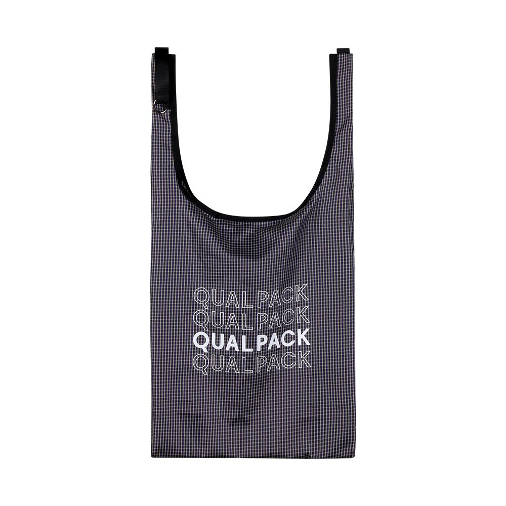 [퀄팩] QUALPACK 마켓백 QC3010 체크