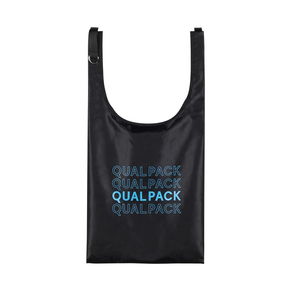 [퀄팩] QUALPACK 마켓백 QC3010 폴리블랙