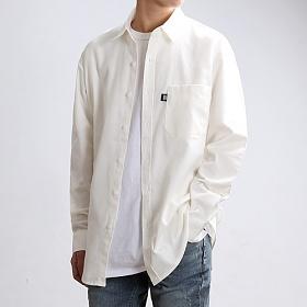[쟈니웨스트] JHONNYWEST - Cottony FW Shirts (Cream) 긴팔셔츠 남방