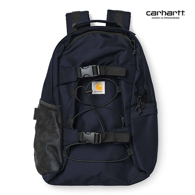 [칼하트WIP] CARHARTT WIP - Kickflip Backpack (Dark Navy) 킥플립 스트링 백팩 가방