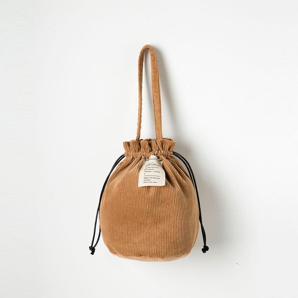 [풀포] Strap 버킷백 (Brown) - P005_BR