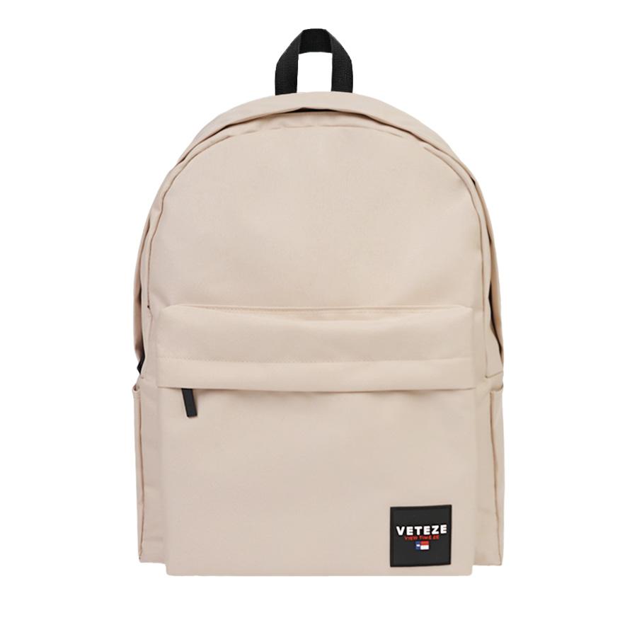 베테제 - Base Backpack (beige) 베이스 무지백팩 무지백 백팩 베이지