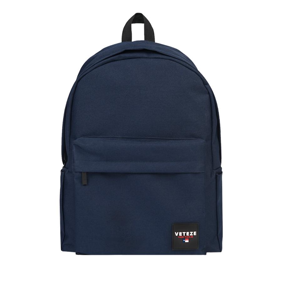 베테제 - Base Backpack (navy) 베이스 무지백팩 무지백 백팩 네이비