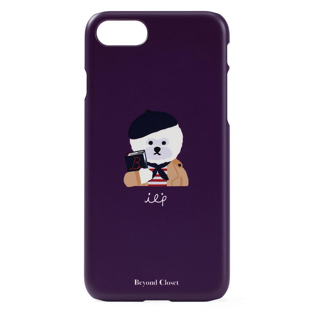[비욘드클로젯x매니퀸] ILP 로고 아이폰8 케이스 퍼플