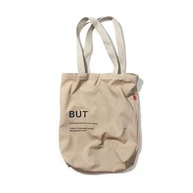 [벗딥]BUTDEEP -로고 에코백-베이지