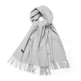 라퍼지스토어 - Cashmere low Muffer_Soft Gray