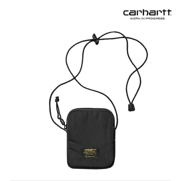 [칼하트WIP] CARHARTT WIP - Military Neck Wallet (Black) 밀리터리 목걸이지갑 미니 크로스백