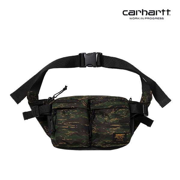 [칼하트WIP] CARHARTT WIP - Military Hip Bag (Camo Tiger Jungle / Black) 밀리터리 힙색 웨이스트백 가방