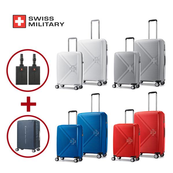 [스위스밀리터리]SWISS MILITARY -  경량 캐리어 벤투스세트 20인치+26인치 사은품 증정